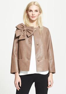 kate spade new york 'dorothy' leather jacket