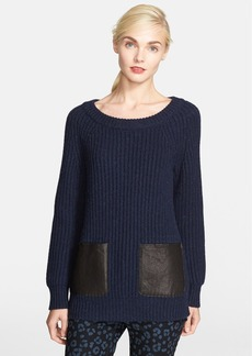 kate spade new york double pocket sweater