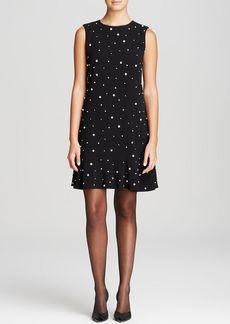 kate spade new york Embellished Drop Waist Dress