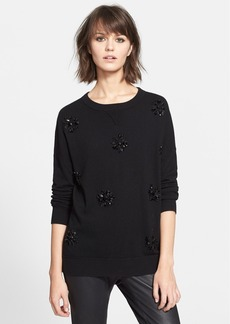kate spade new york embellished sweater