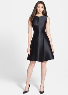 kate spade new york 'emma' satin fit & flare dress