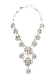 kate spade new york estate garden necklace, white