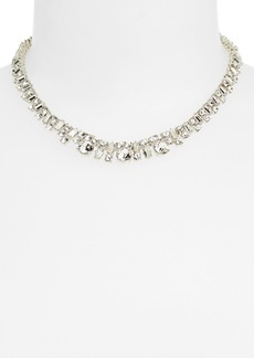 kate spade new york 'estate sale' crystal collar necklace