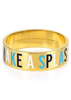 kate spade new york Everything's Going Swimmingly Idiom Bangle