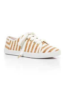 kate spade new york Flat Lace Up Sneakers - Lodero