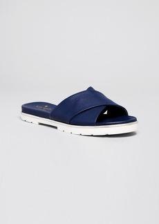 kate spade new york Flat Slide Sandals - Markey