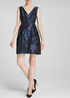 kate spade new york Floral Jacquard Dress