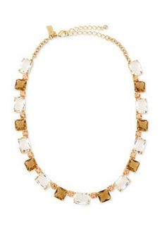kate spade new york formal facets collar necklace