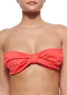 kate spade new york georgica beach bow-front underwire swim top