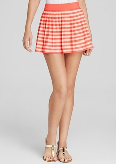 kate spade new york Georgica Beach Stripes Swim Cover Up Skirt