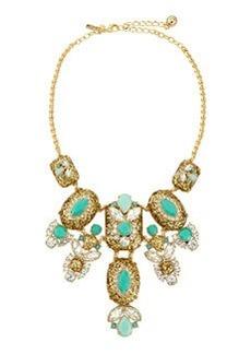 kate spade new york glitter statement necklace