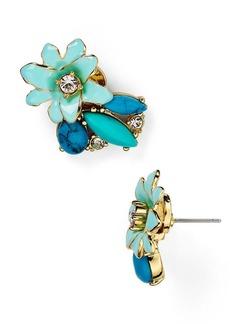kate spade new york Glossy Petals Cluster Stud Earrings
