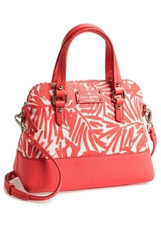 kate spade new york 'grove court - fabric maise' satchel