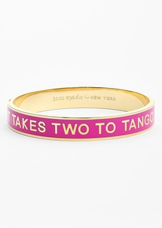 kate spade new york 'idiom - it takes two' bangle