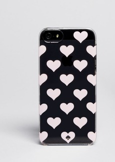 kate spade new york iPhone 5/5s Case - Clear Hearts