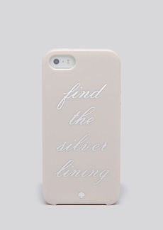 kate spade new york iPhone 5/5s Case - Find The Silver Lining Resin