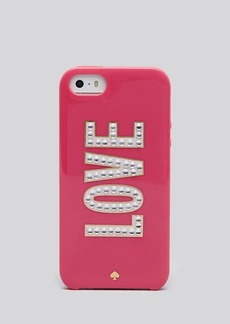 kate spade new york iPhone 5/5s Case - Love Resin