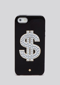 kate spade new york iPhone 5/5s Case - Money Sign Resin