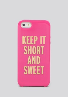 kate spade new york iPhone 5/5s Case - Resin Keep It Short And Sweet
