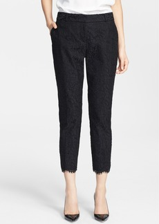 kate spade new york 'jackie' lace capri pants