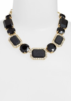 kate spade new york 'jackpot jewels' stone collar necklace