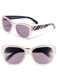 kate spade new york 'kia' 54mm cat eye sunglasses