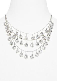 "kate spade new york Lady Marmalade Mini Charm Triple Strand Necklace, 14"""