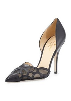 kate spade new york lauretta patent d'orsay pump, black
