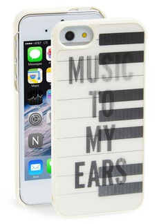 kate spade new york 'lenticular piano keys' iPhone 5 & 5s case