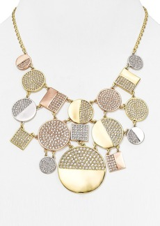 "kate spade new york Light the Lanterns Bib Necklace, 18"""