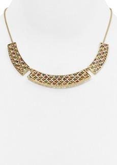 "kate spade new york Little Ladybug Caining Collar Necklace, 17"""