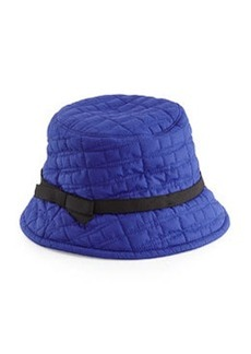 kate spade new york logo quilted bucket hat