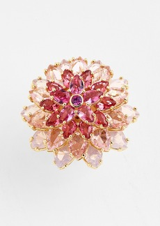 kate spade new york 'ombré bouquet' crystal statement ring