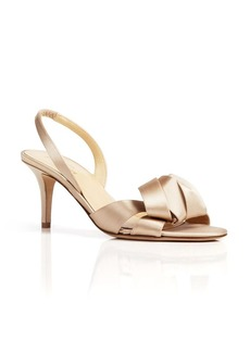 kate spade new york Open Toe Evening Sandals - Madison Slingback Midheel