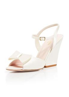kate spade new york Open Toe Wedge Evening Sandals - Imari