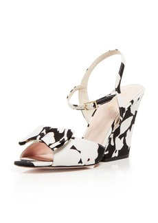 kate spade new york Open Toe Wedge Sandals - Imari