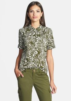 kate spade new york 'orchid' print shirt
