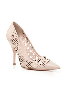 kate spade new york Perforated Pumps - Lizette High Heel