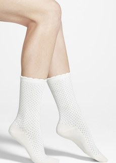 kate spade new york pin dot socks