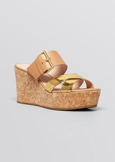 kate spade new york Platform Slide Wedge Sandals - Talula