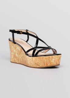 kate spade new york Platform Wedge Sandals - Talanse
