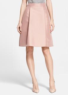 kate spade new york pleated a-line skirt