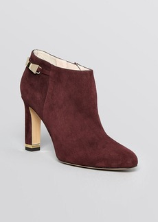 kate spade new york Pointed Toe Booties - Aldaz Bow High Heel