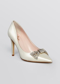 kate spade new york Pointed Toe Evening Pumps - Pez High Heel