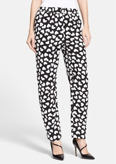 kate spade new york 'ria - dancing hearts' print pants