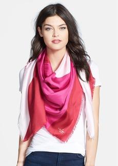 kate spade new york 'rio swirl' silk scarf