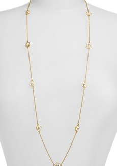 kate spade new york 'rose garden' long station necklace