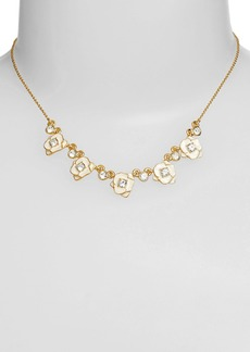 kate spade new york 'rose garden' mini collar necklace
