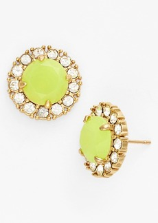 kate spade new york 'secret garden' mixed stone stud earrings