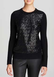 kate spade new york Sequin Front Sweater